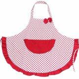Moonar Merah Bintik Dasi Kupu Kupu Celemek Dapur Aksesoris Untuk Wanita Perempuan Memasak Kue Terbaru