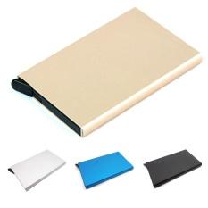 Harga Moonar Unisex Bisnis Kartu Kredit Aluminium Case Protector Mini Id Card Holder Intl Asli Moonar