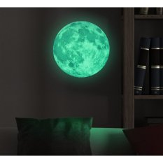 Jual Moonlight Sticker Glow In The Dark Moon Luminous Planet Hijau Di Indonesia
