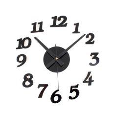 Harga Moreno Diy Acrylic Wall Clock 30 50Cm Diameter Jam Dinding Hitam Dki Jakarta