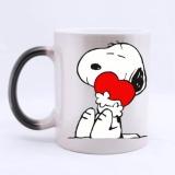 Jual Cepat Morphing Mug Heat Mengungkap Mug Mug Keramik 11 Ounce 320 Ml Intl