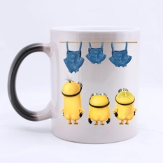 Morphing Mugs Heat Reveal Ceramic Coffee Mug 11 Ounce(320Ml) Intl Asli