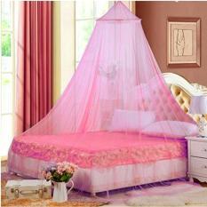 Toko Jual Mosquito Net Kelambu Anti Nyamuk Kamar Tidur Pink