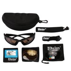 Motor Mengemudi Eye Protector Sunglasses Militer Taktis Lensa Kacamata-Intl