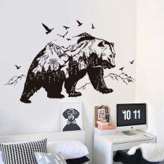 Jual Beli Mountain Hewan Sticker Kamar Tidur Mural Pvc Stiker Dinding Internasional Baru Tiongkok