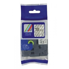 MStore Kompatibel Tz141 Tze141 Tz-141 Tze-141 Label Tape untuk Brother P-touch Printer, Hitam Di Clear, 18mm (W) X 8 M (L)-Intl
