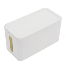 MStore Fashion Cable Storage Box Case Wire Management Socket Safety Tidy Organizer Solution,24*12*13Cm - intl