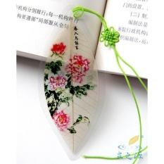 Mstore Fu Gui Klasik Peony Musim Semi dan Urusan Luar Negeri Hadiah Penanda Vein-Intl