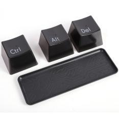 Harga Mug Keyboard Ctrl Alt Del Gelas Minum Unik Set Dengan Nampan Hitam Asli Mug