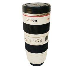 Mug Lensa Stainless Lensa 70-200mm Jumbo - Putih