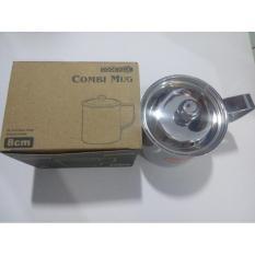 Mug Stainless Steel Cook Ville Korea 8 Cm - Vmrekq