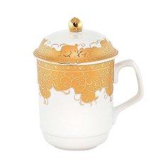 Mug Vicenza Y66 / Gelas & Tutup Vicenza Y66 Motif Marigold