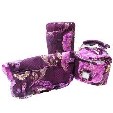 Toko Mugunghwa Gkm Set Rose Batik Purple Di Indonesia