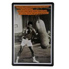 Muhammad Ali Retro Metal Art Poster Vintage Antique Metal Tin Signsdecor Home Club G-58 - intl