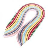 Ulasan Tentang Multi Warna 720 Pcs Quilling Paper Art Strips Dalam 36 Warna 540Mm Panjang 3Mm Lebar Intl