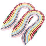 Jual Banyak Warna 720 Pcs Quilling Paper Art Strips 5Mm Lebar Intl Online