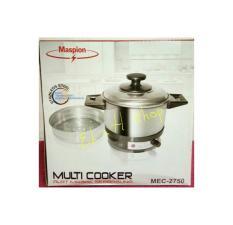 multi cooker maspion mec 2750/panci listrik serbaguna