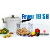 Harga Multi Fryer 18 Sh Silver Wajan Pengorengan Serbaguna Dengan Peniris Yg Bagus