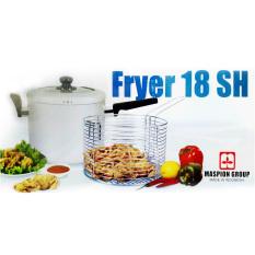 Harga Multi Fryer 18 Sh Silver Wajan Pengorengan Serbaguna Dengan Peniris Asli Market Soul