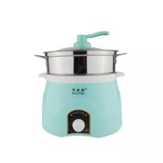 Multi-fungsional Pan Listrik mini Kompor Listrik Asrama untuk Kecil Electric Pot Kamar Tidur Cangkir Listrik Memasak Mie (fast Delivery) -Intl