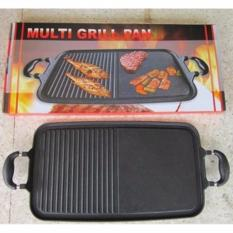 Promo Multi Grill Pan Serbaguna Alat Panggang Sate Ayam Daging Bakar Murah