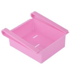 Multi-use Sliding Kulkas Freezer Pantry Penyimpanan Organizer Wadah Sampah Hemat Ruang Kulkas Penyimpanan Box Holder Alat Dapur -Intl