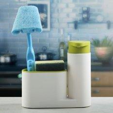 Harga Multifunctional Bathroom Kitchen Sink Tidy Organzier Cosmetics Storage Box 450Ml Liquid Soap Dispenser Hand Wash Body Wash Lotion Shampoo Bottle Green Intl Dan Spesifikasinya
