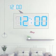 Dapatkan Segera Multifungsi Led Besar Jam Dinding Digital 12 H 24 H Tampilan Waktu Dengan Alarm Dan Tunda Fungsi Pencahayaan Yang Dapat Disesuaikan Intl