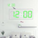Diskon Produk Multifungsi Led Besar Jam Dinding Digital 12 H 24 H Tampilan Waktu Dengan Alarm Dan Tunda Fungsi Pencahayaan Yang Dapat Disesuaikan Intl