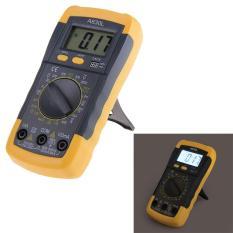 Multimeter Digital AC LCD Listrik DC Pengukur Tegangan Volt Ohmmeter Multitester