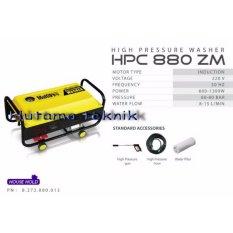 Multipro High Pressure Washer / Jet Cleaner / Mesin Cuci Steam HPC880ZM (Hanya pengiriman pulau JAWA saja)