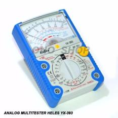 Multitester Analog Heles YX393 (Plus LED & Transistor Tester)