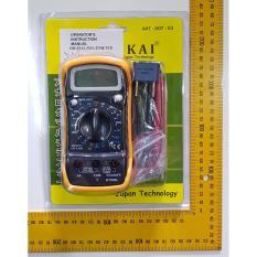 Spek Multitester Avometer Multimeter Multi Tester Digital Dt Dt850L Nankai