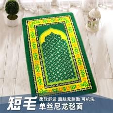 Muslim Ziarah Prayer Blanket Masjid Doa Doa Slip Mat 66.5 Cm X 110 Cm-Intl