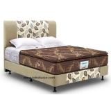 Promo Musterring Stanford Pillowtop 160X200 Kasur Tanpa Divan Sandaran Cokelat Musterring