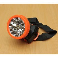 Muxindo 1881 Lampu Senter Kepala Headlight Tahan 10 Jam Rechargeable 2 Jenis Lampu Serbaguna - Warna RANDOM