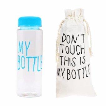 My Bottle DOFF Botol Minum Biru plus Tas .