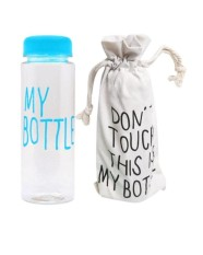 My Bottle free pouch sarung infused water Botol Minum plastik tritan