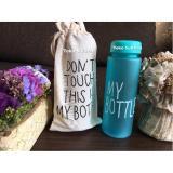 My Bottle NEW DOFF Botol Warna Warni 500ml - Biru plus TAS | Lazada Indonesia