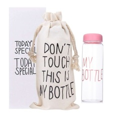 Harga My Bottle Pink With Box And Pouch My Bottle Asli