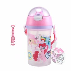 Diskon My Little Pony Baby Children Students Pp 500 Ml Kebocoran Proof Travel Straw Cup Akhir Tahun