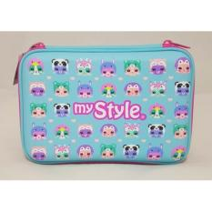 Jual Beli My Style Tm 2255 Groovy Animals Hardtop Pencil Case Dki Jakarta