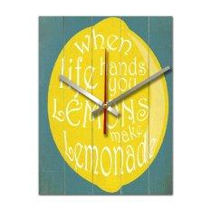 Jual Nail Your Art Jam Dinding Unik Artistik Lemonade Artistic Unique Wall Clock Nail Your Art