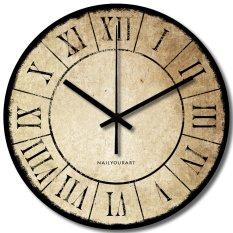 Spesifikasi Nail Your Art Jam Dinding Unik Artistik Papyrus Artistic Unique Wall Clock Beserta Harganya
