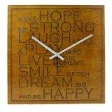 Toko Nail Your Art Jam Dinding Unik Artistik Premium Quote Of Life Artistic Unique Wall Clock Online Di Banten