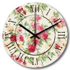 Harga Nail Your Art Jam Dinding Unik Artistik Rose Artistic Unique Wall Clock Online