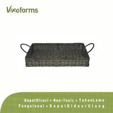 Viroforms Nampan Rotan Sintetis Nesting Java (S) - Food Grade