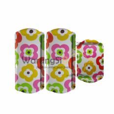 Iklan Warungsiboss Nampan Bunga Bunga Multi Color Onyx 3 Pcs Per Set