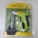 Diskon Nankai Cordless Screwdriver Obeng Bor Tangan Elektrik Perkakas Tool Nankai