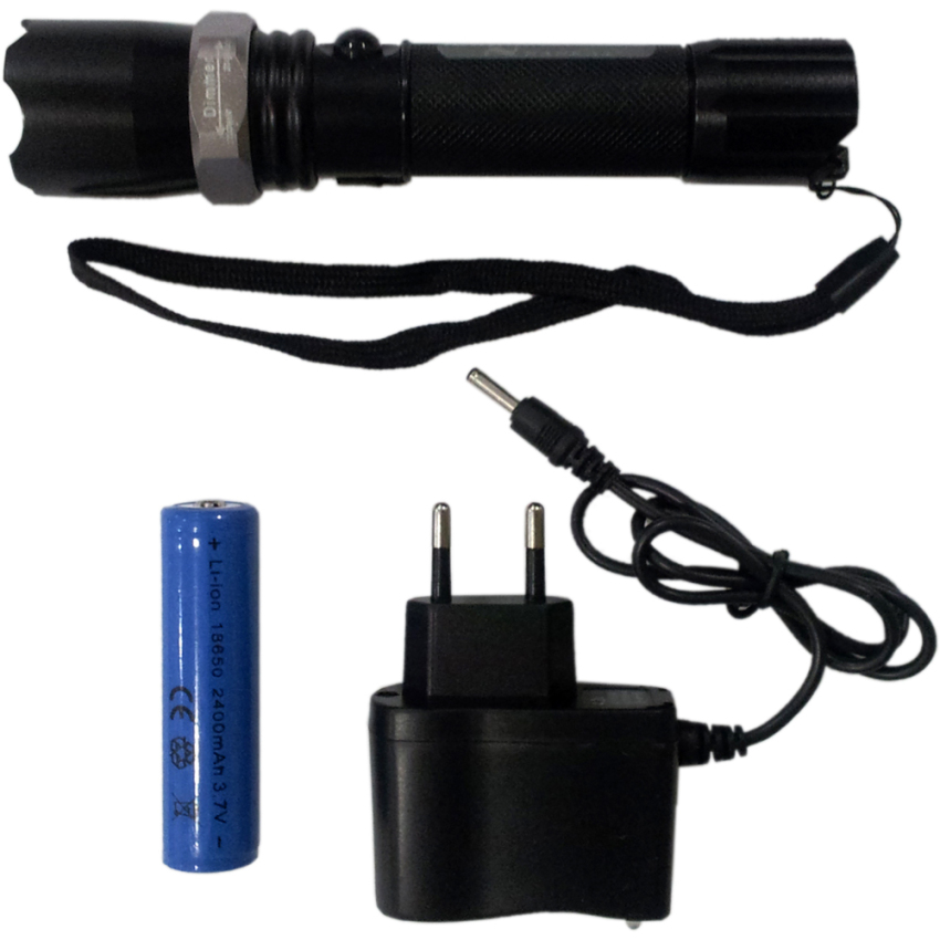 Jual Perkakas Nankai Flashlight Focus Torch Senter Tangan Charger Swat Led Zoom Perkakas Tool Grosir